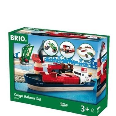 Brio  Kargo Limanı Seti ABR33061 Renkli